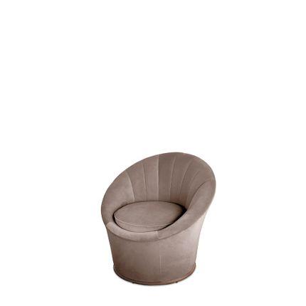 Armchairs - Monroe Armchair - CAFFE LATTE