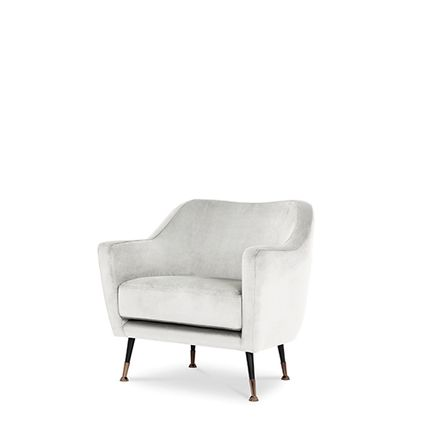 Armchairs - Charlotte Armchair - CAFFE LATTE