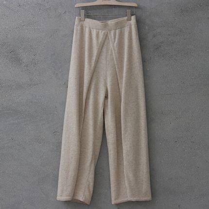 Homewear - Cashmere woven pants - SANDRIVER CASHMERE