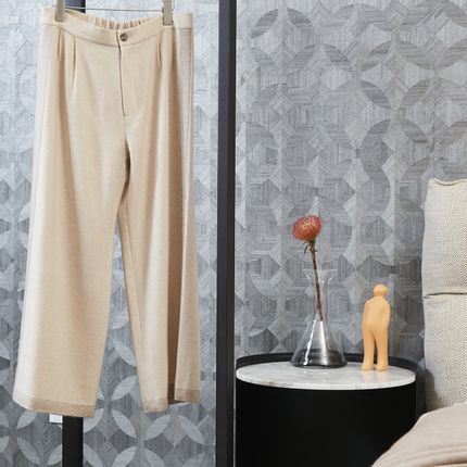 Ready-to-wear - NATUREL undyed cashmere pants - Men - SANDRIVER CASHMERE
