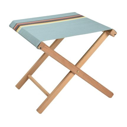 Deck chairs - folding stool with cotton canvas - ARTIGA