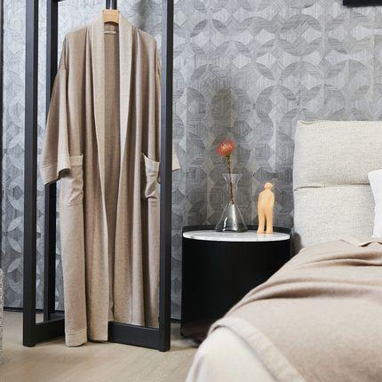 Prêt à porter - Peignoir oversize NATUREL non nui en cachemire - SANDRIVER CASHMERE