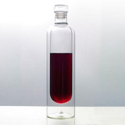 Carafes - Les bouteilles Originales à double paroi - Silodesign (vin-thé-café-jus) - SILODESIGN - PARIS