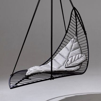 Deck chairs - LEAF Hanging chair and Lounger - STUDIO STIRLING