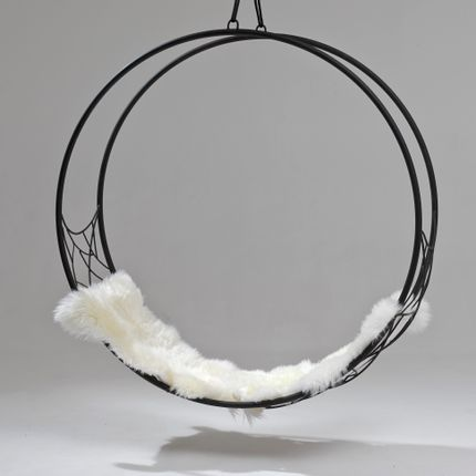 Chaises - Wheel Circular Hanging Chair - STUDIO STIRLING