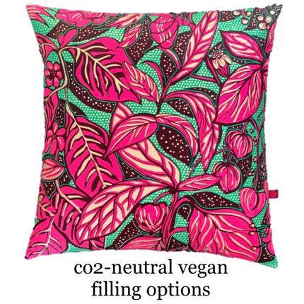 Comforters, pillows - TRUE VEGAN FASHION PILLOWS - FASHION PILLOWS BY MÜLLERSCHMIDT