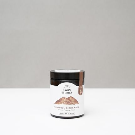 Beauty products - RHASSOUL CLAY DETOX MASK - SAVON STORIES