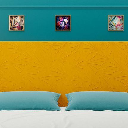 Beds - HEADBOARD MAGIWALL - DAVID LANGE