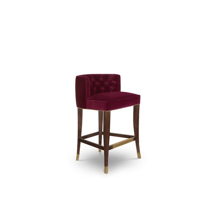 Chairs - Bourbon Bar Chair  - COVET HOUSE