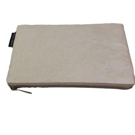 Pochettes - Pochette femme papier kraft écologique - beige - AUCTOR