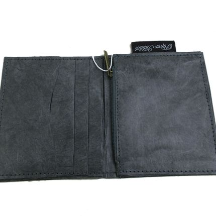 Leather goods - Wallet and Card Holder - Grey - AUCTOR