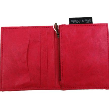Clutches - Wallet and Card Holder - Red - AUCTOR