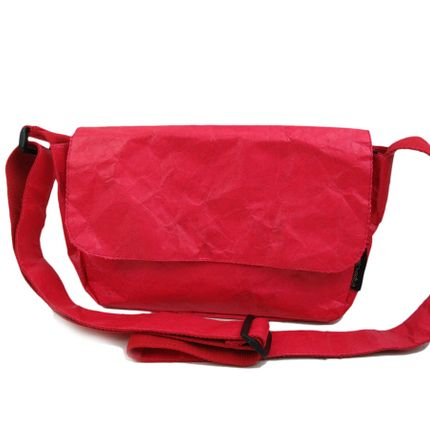 Bags / totes - KRAFT Shoulder Bag - Red - AUCTOR