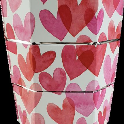 Carafes - Seau à glace et vase pliable origami LOVE - ICEPAC FLOWERPAC