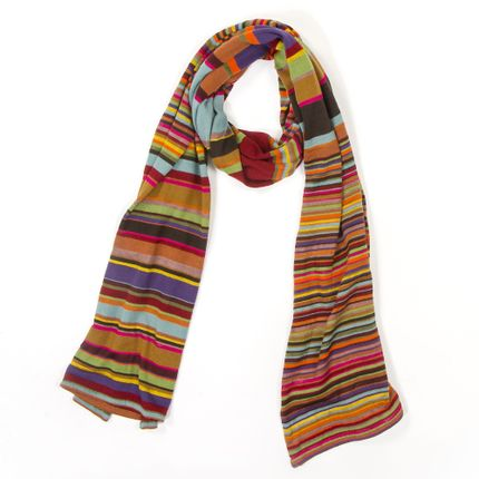 Scarves - Scarf for women with stripes - MIA ZIA