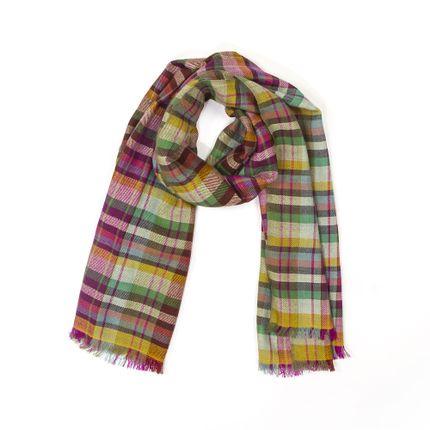 Foulards / écharpes - Echarpe à carreaux multicolore - MIA ZIA