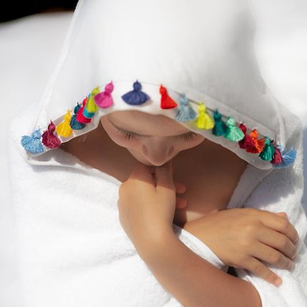 Bath linens - Bathing cape for babies and children - MIA ZIA