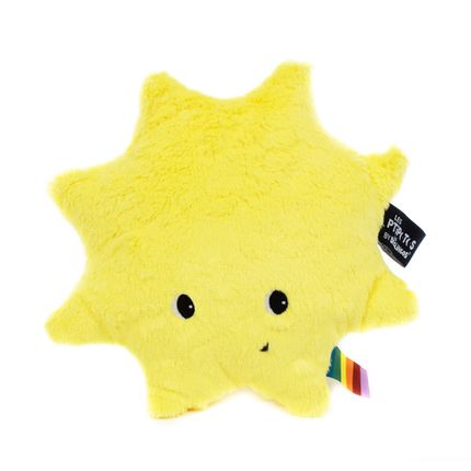 Soft toy - Ptipotos the sun yellow - LES DEGLINGOS