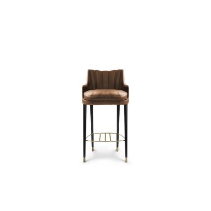 Chairs - Plum Counter Stool  - COVET HOUSE
