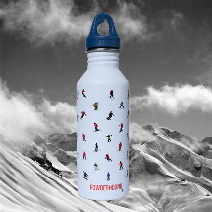 Mugs - Powderhound Water Bottle - POWDERHOUND