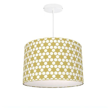 Hanging lights - Pendant / Lampshade Lunette Yellow -  SHĒDO