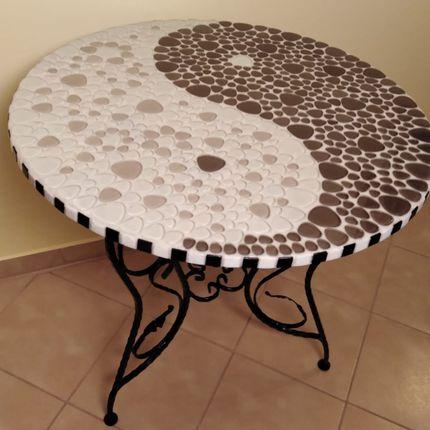 Tables - Table de séjour HARMONY - IRON ART MOZAIC