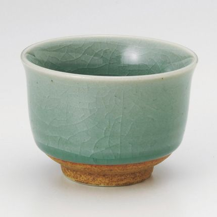 Mugs - Japanese Sencha Tea Cup - SHIROTSUKI / AKAZUKI JAPON