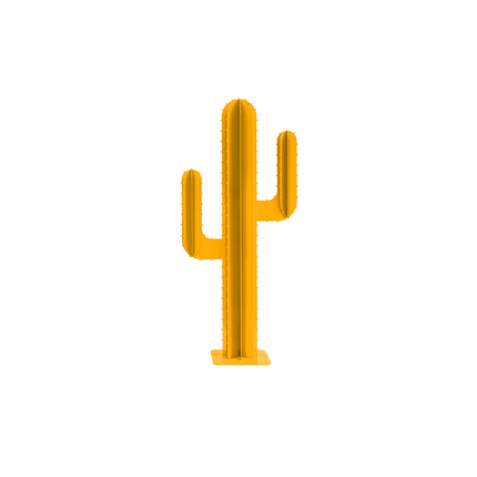 Decorative objects - MINI CACTUS BRANCHES YELLOW - LP DESIGN