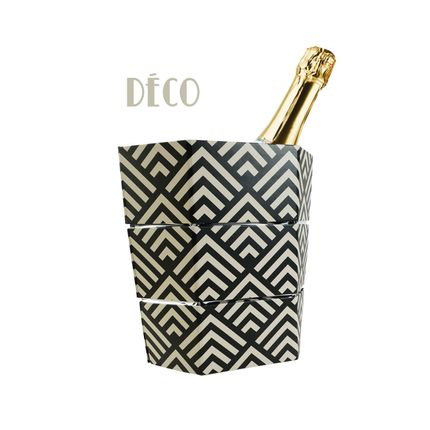 Gift - Deco Origami Folding Ice Bucket and Vase - ICEPAC FLOWERPAC