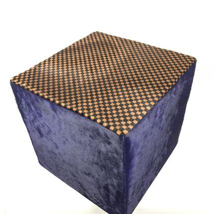 Ottomans - Pouf vache BOXING - TERGUS