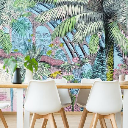 Wallpaper - Jardin d'Hiver Panel - ETOFFE.COM