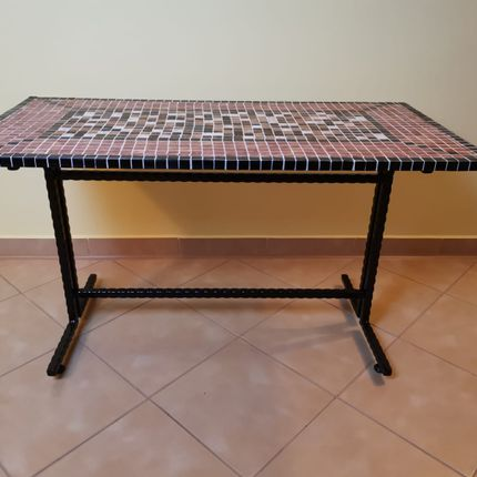 Coffee tables - CHOCO MIX Coffee Table - IRON ART MOZAIC
