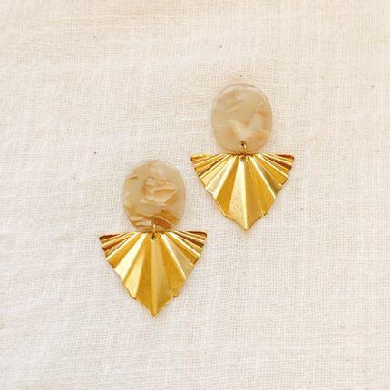 Bijoux - Boucles d'oreilles acétate  - NAO JEWELS