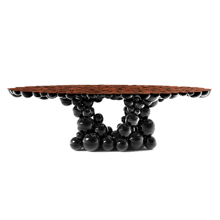 Tables -  NEWTON BLACK WALNUT Dining Table - BOCA DO LOBO