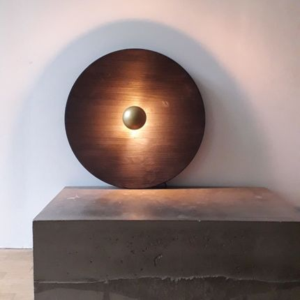 Wall lamps - wall lamp black moon - CLAIRE MAZUREL