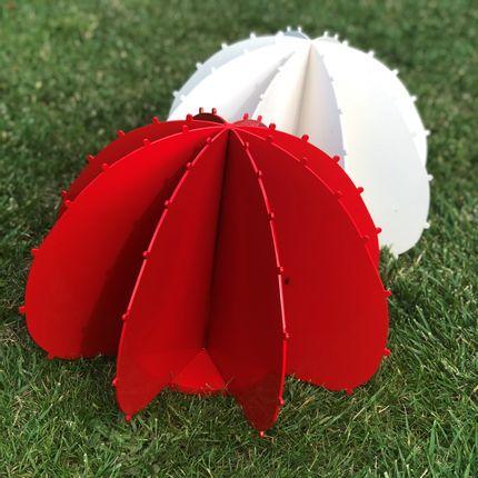 Decorative objects - MINI CACTUS BALL FLUOR GREEN - LP DESIGN