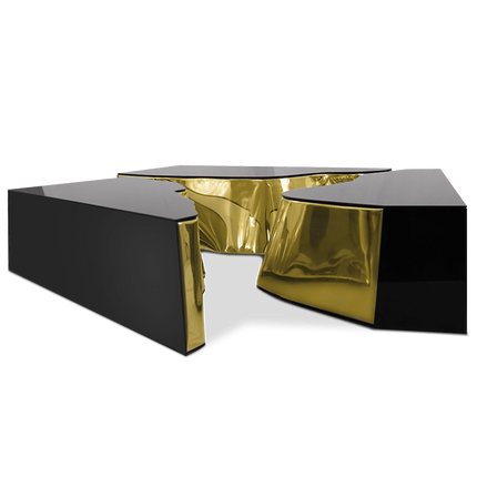 Tables basses - Table centrale LAPIAZ BLACK GOLD - BOCA DO LOBO