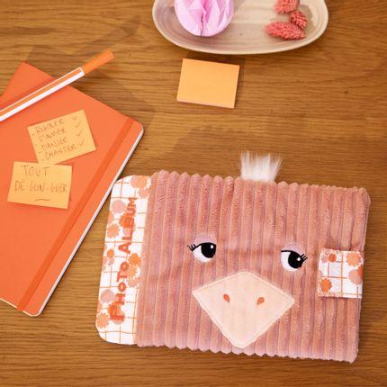 Childcare - Photo album Pomelos the ostrich - LES DEGLINGOS