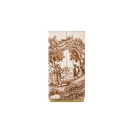 Armoires - Heritage Sepia Cabinet  - COVET HOUSE