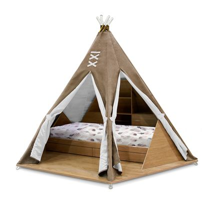 Beds - Teepee Kids Bed  - COVET HOUSE