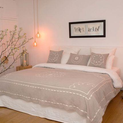 Bed linens -  Jeté de lit So'zana - L'ATELIER DES CREATEURS