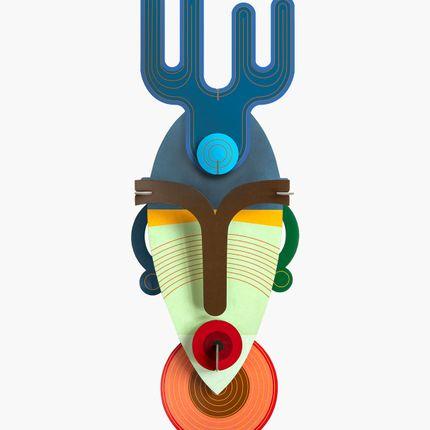 Décoration murale - Mask, Dakar - STUDIO ROOF