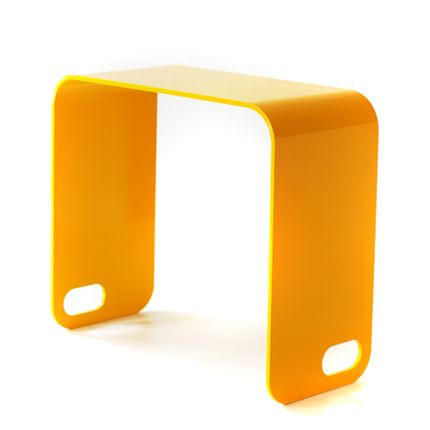 Stools - UNIOTTO1 minimal side table / stool  - TEBTON®