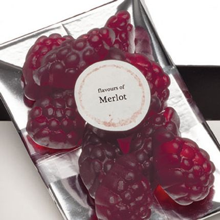 Chambres d'hotels - The Real WINE Gum - Merlot - VINOOS