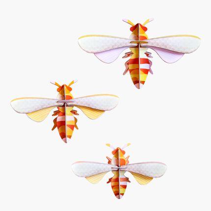 Décoration murale - Honey bees, set of 3 - STUDIO ROOF