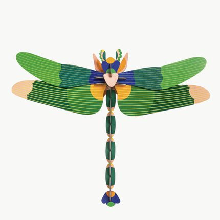 Décoration murale - Giant dragonfly, green - STUDIO ROOF