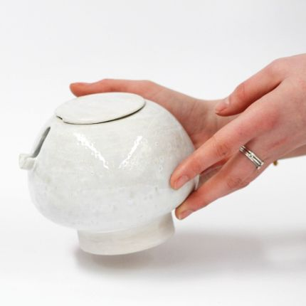 Glass - Milk Jar - CHLOÉ KOWALKA