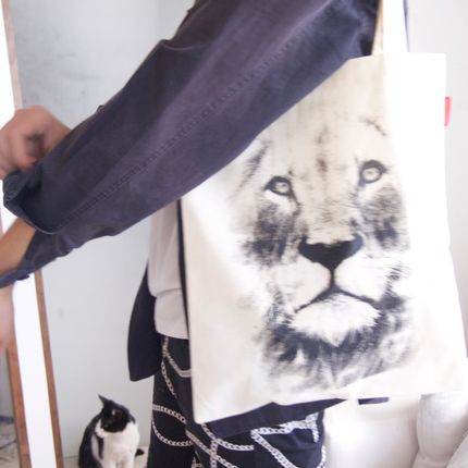 Clutches - Tote bag Lion - SISSIMOROCCO
