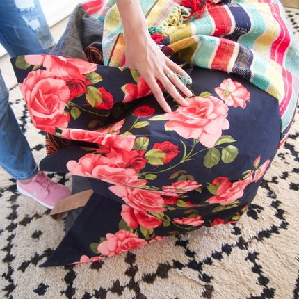 Tapestries - Pouf Rectangle - SISSIMOROCCO