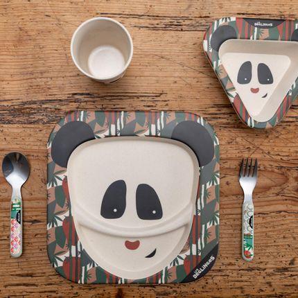 Meals - BAMBOO DINNER SET Panda - LES DEGLINGOS